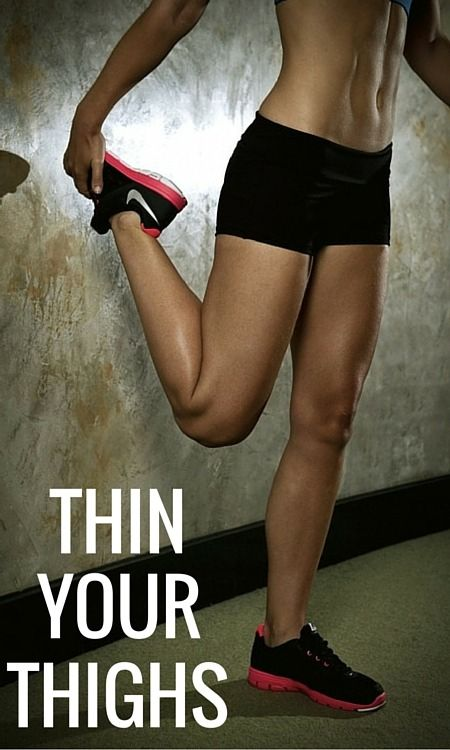 A Simple But Tough Solution to Thinner Thighs