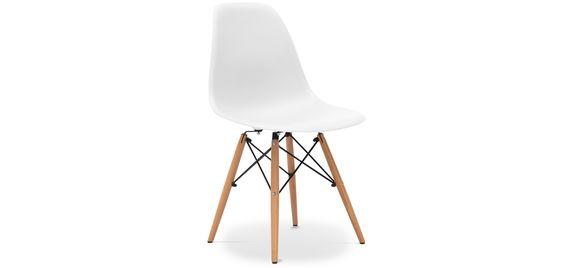 49 euros. Toutes les couleurs. Chaise DSW Charles Eames Style - Polypropylène Matt