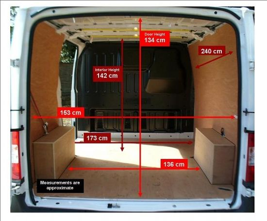 Ford Transit Swb Interior Dimensions 5 Ford Transit Camper