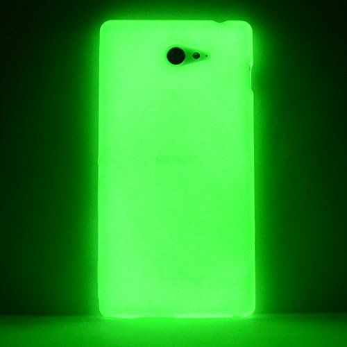 youcase day 39 n 39 night case sony xperia m2 glow etui en silicone coque de protection vert http. Black Bedroom Furniture Sets. Home Design Ideas