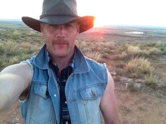 Tony O Conner - Equine Artist (10/24/2014, Self Portrait) Irish Cowboy!
