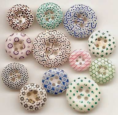 China calico buttons.