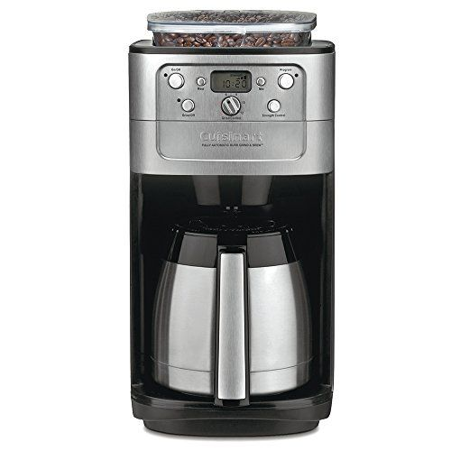 Read Our Coffee Maker Reviews Of The Best Coffee Machine With Grinder Options For Your Home Grin Thermal Coffee Maker Best Coffee Maker Cuisinart Coffee Maker