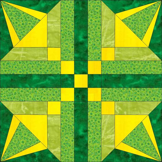 Irish Barn Quilt Patterns : Star quilt blocks, Star quilts and Quilt blocks on Pinterest