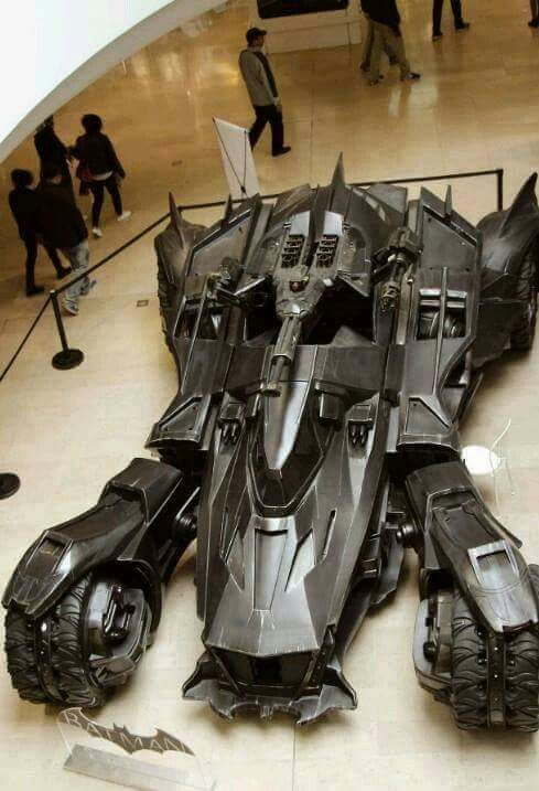 Batmobile from Arkham Knight game