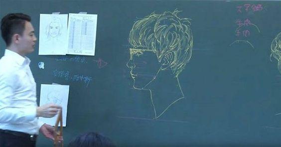 Les-incroyables-dessins-d-un-professeur-au-tableau-10