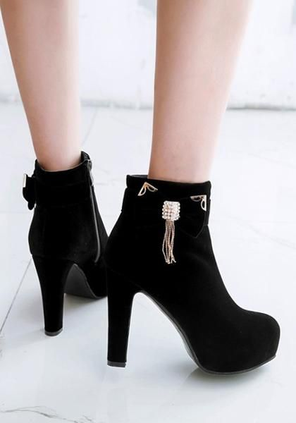 Insanely Cute Fall Booties