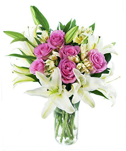 Introducing High Society Bouquet for Mothers Day With Vase. Great Product and follow us to get more updates!: