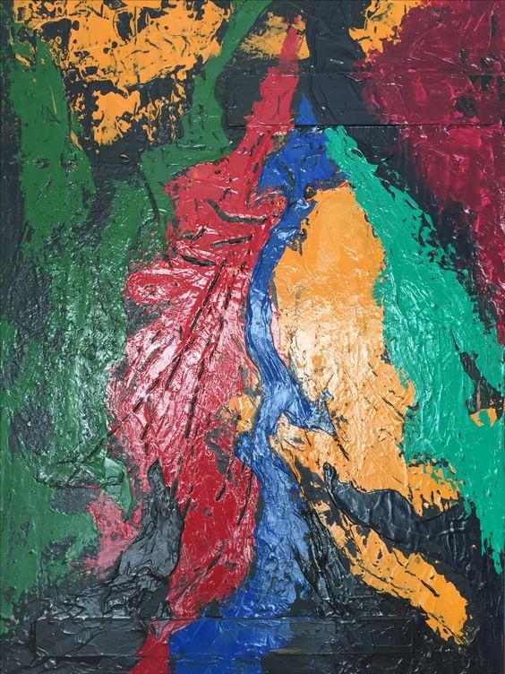 O BRASIL É ASSIM,2010  Acrílica e madeira s/tela  100 x 70 cm