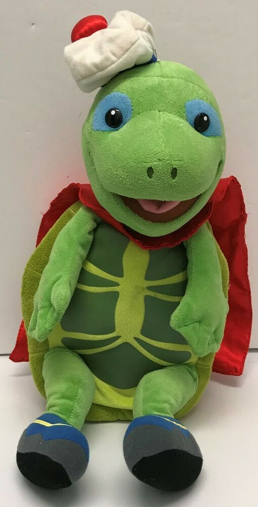 2008 Fisher Price Wonder Plush Toy Ty Tuck Turtle With Red Cape Fisherprice Plush Toy Wonder Pets Toys