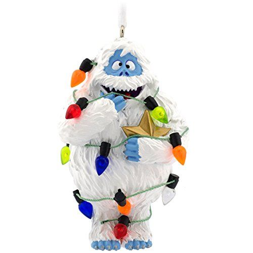 Hallmark bumble the abominable snowman from rudolph the for Abominable snowman christmas light decoration