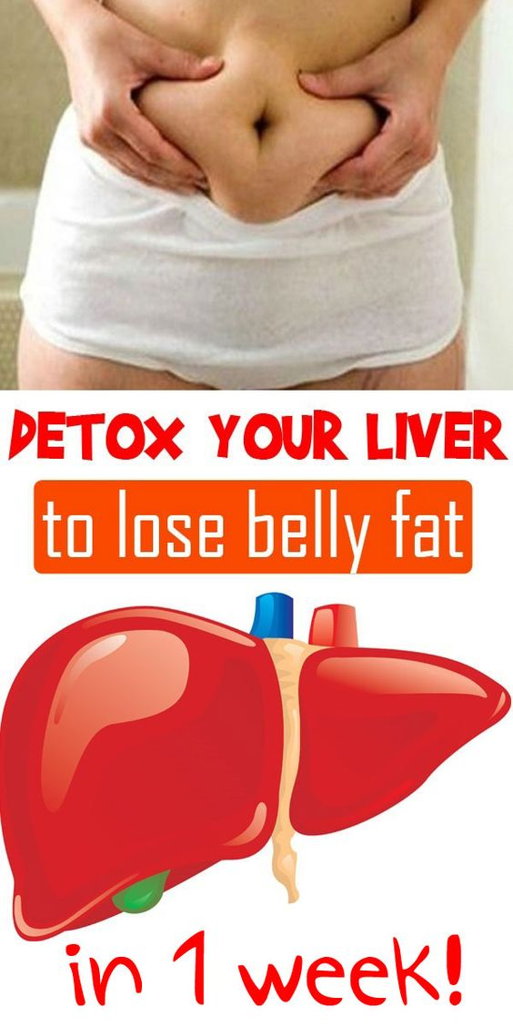 Detox your Liver to lose belly fat in 1 week