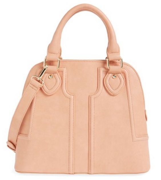 Peach Dome Satchel