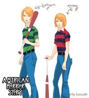 american horror story drawings tate - Google Search