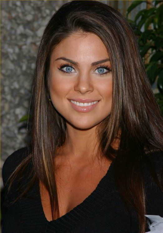 Nadia Bjorlin, love her hair and make up!