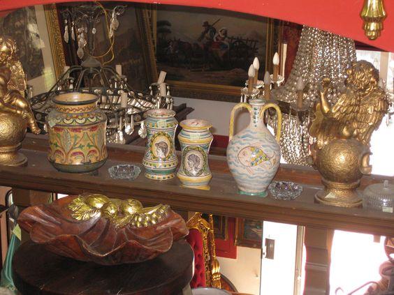 Italian antiques shop