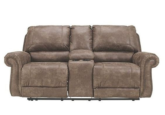 Oberson Reclining Loveseat with Console