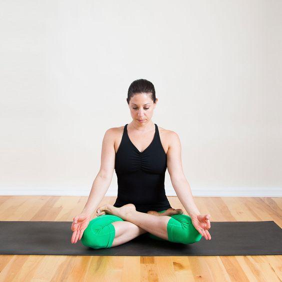 Padmasana Or Lotus Pose