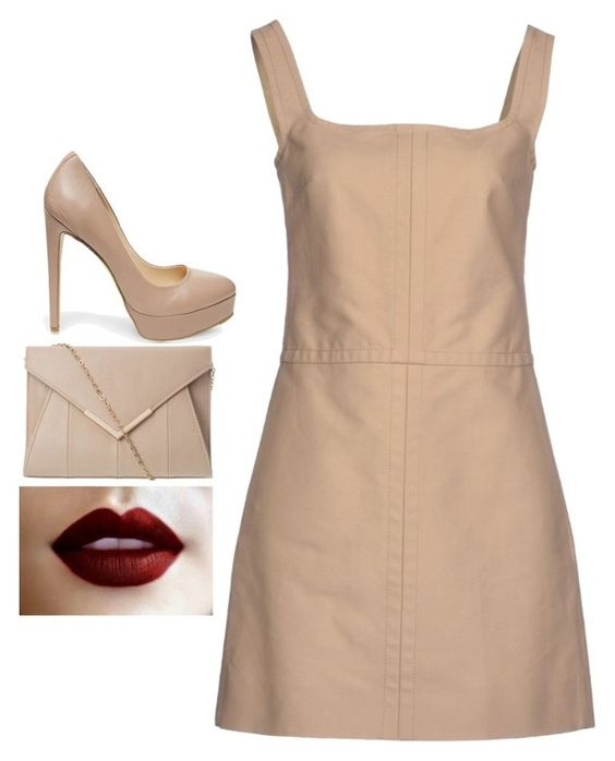 """Untitled #3937"" by adi-pollak ❤ liked on Polyvore featuring Valentino and Steve Madden"
