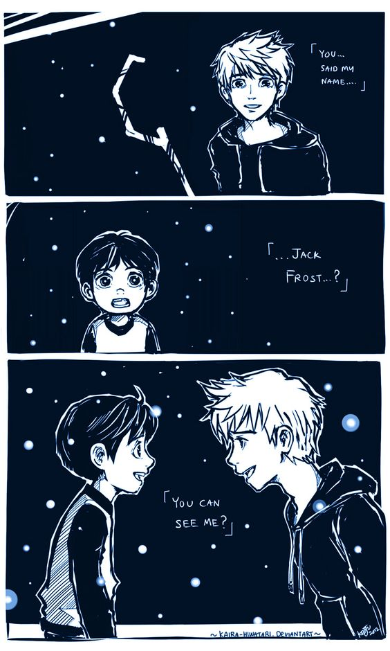 RotG: ..You can see me? by Kaira-Hiwatari.deviantart.com on @DeviantArt