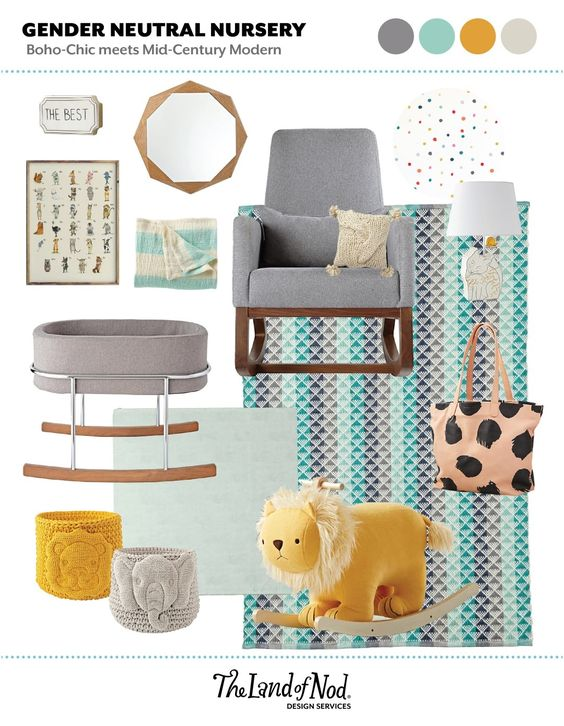 Shop The Best Wall Plaque, Naturally Faceted Mirror, Joya Rocking Chair, Chunky Knit Throw Pillow, Dreamy Palette Hand Drawn Dots - WALL DECAL, SPANISH - ABC Animals Alphabet Poster, Learning A3 size, Lightly Striped Baby Blanket (Aqua), Fox Table Lamp, Pyramid Blue Reversible Rug, Monte Rockwell Bassinet, Baggu Diaper Bag (Dot), Lion Rocker, Baby Lion Knit Bin, Baby Elephant Knit Bin, Midi Gathre Mat (Mint) and more