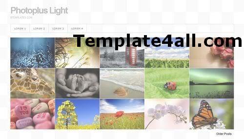 Blogger Blogspot Gallery Photos Template Design #blogger #blogspot #gallery