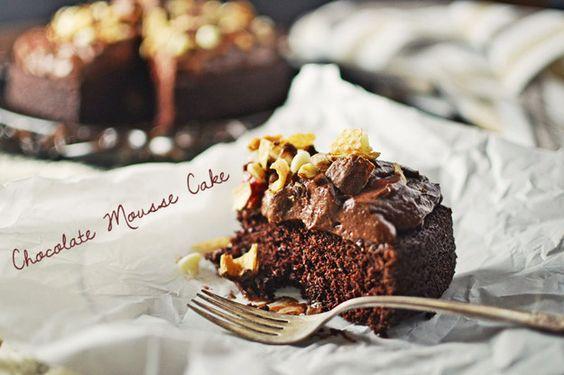 Schokoladencreme-Kuchen