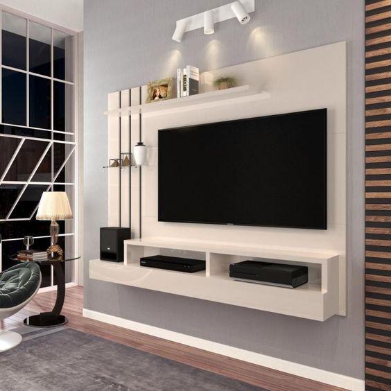 Tablaroca Para Diseno De Interiores Y Muebles 2019 2020 Muebles De Tablaroca Muebles Para Televisores Muebles Para Tv Minimalistas