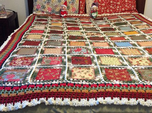 Just in the St. Nick of time Christmas throw | Flickr - Photo Sharing!