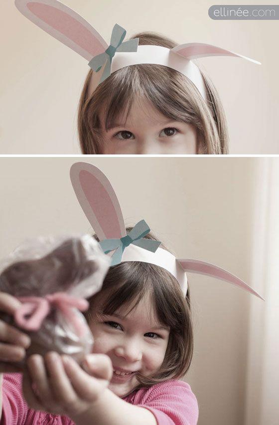 Printable Bunny Ears