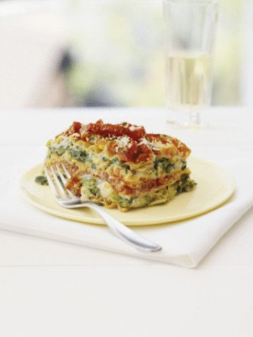 Lasagna, Vegetable lasagna recipes and Veggie lasagna on ...