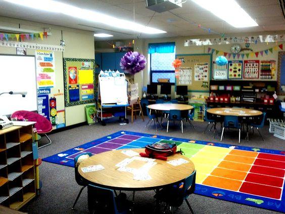 Classroom Organization Ideas For Preschool : Super cute organized kindergarten classroom megan