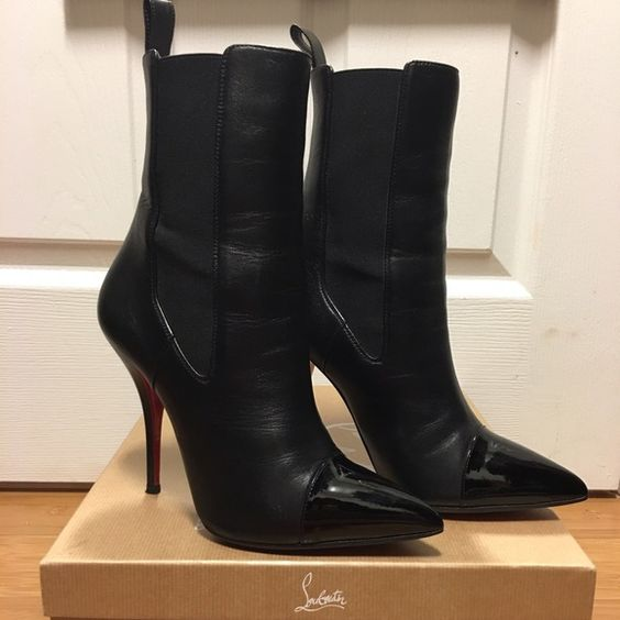 christian louboutin boots 38