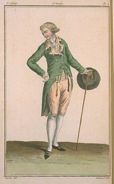 Magasin des Modes, December 1786.: