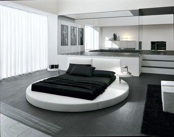 moderne schlafzimmer dekoration - elegant design stil | ideen rund, Haus Raumgestaltung
