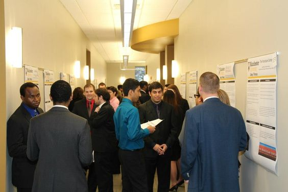 Manchester University College of Pharmacy first year students presented on their service projects this spring.
