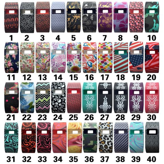 Fitbit Charge HR Charge Band Cover Shockproof Sleeve Slim Soft Case 40 Pattern   eBay