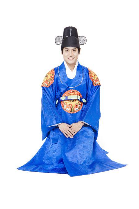 Chung-dallyeong (청단령) [Kostum Pernikahan (혼례복 = Honryebok)]