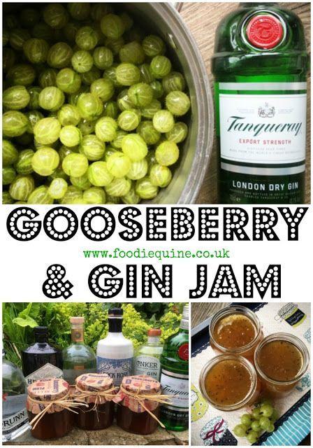 Gin & Gooseberry Jam