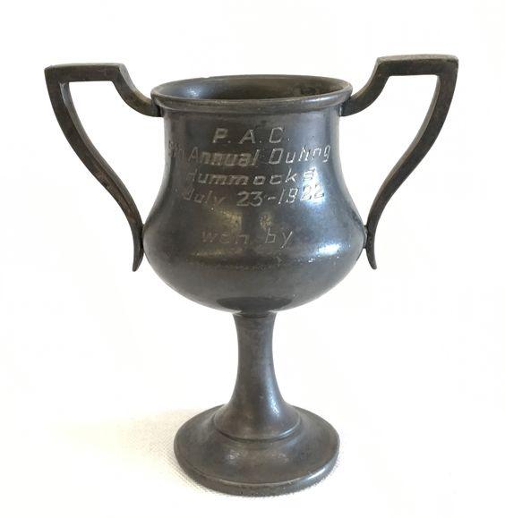 "Miniature Loving Cup 1922 - 4 1/2"""