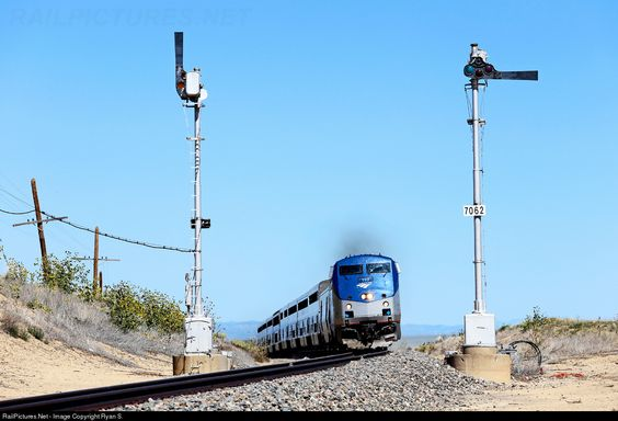 RailPictures.Net Photo: AMTK 157 Amtrak GE P42DC at Springer, New Mexico by Ryan S.
