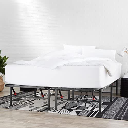 New Amazonbasics Foldable Metal Platform Bed Frame 14 Inch Height