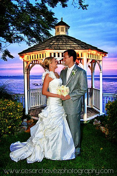 celebrations at the bay sunset/gazebo photo