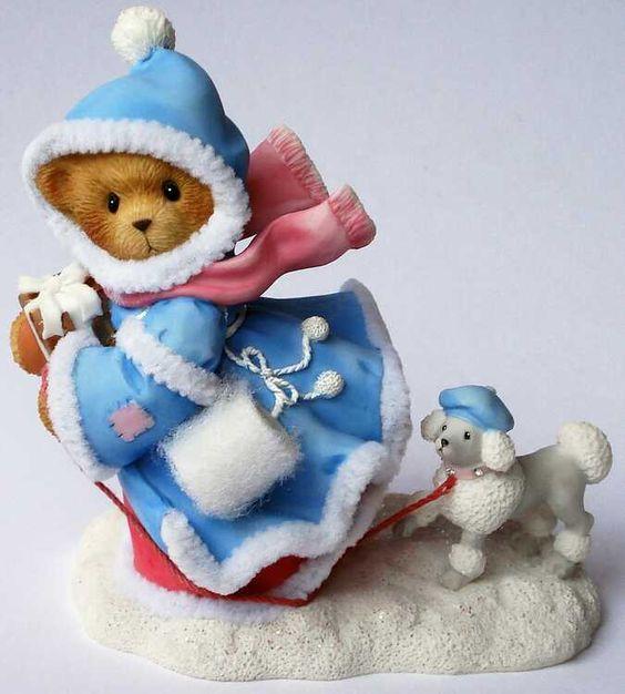 Heidi´s Cherished Teddies Galerie: BROOKLYN - We're Off To Make Hearts Merry (4002846)