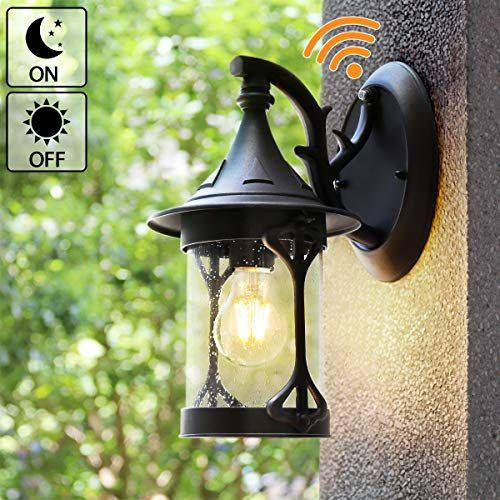 Dusk To Dawn Outdoor Lighting Outdoor Wall Lamps Sconces Https Www Amazon Com Dp B07wvtg5gj Ref Cm Sw R Pi Dp U X Lantern Wall Wall Lights Porch Lighting Dusk to dawn wall lighting
