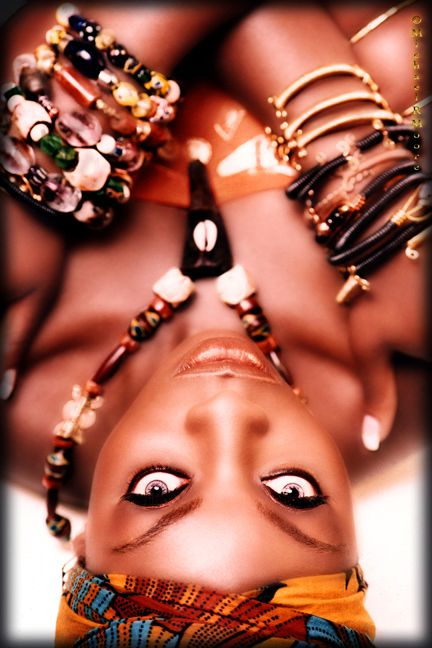 wow i love this...the eyes ,the skin the, jewels its all stunning!