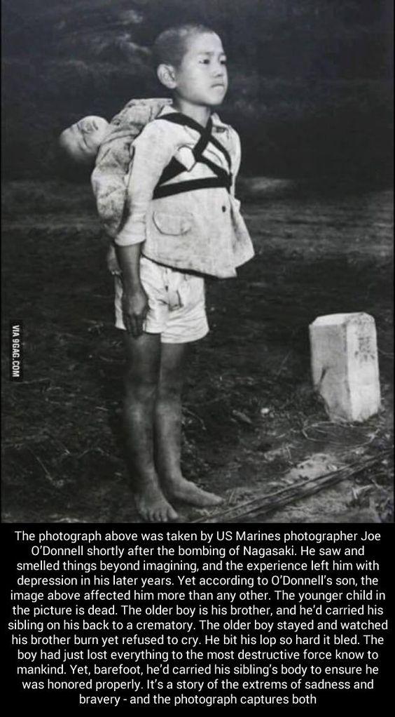 After the Hiroshima & Nagasaki bombings