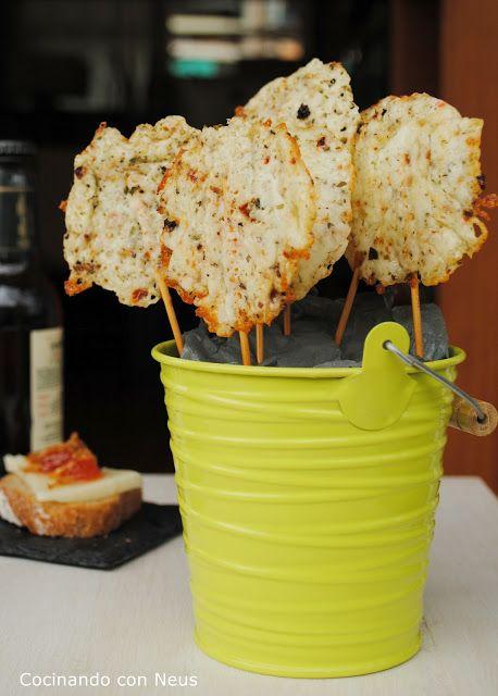 Cocinando con Neus: Piruletas de queso de Tronchón