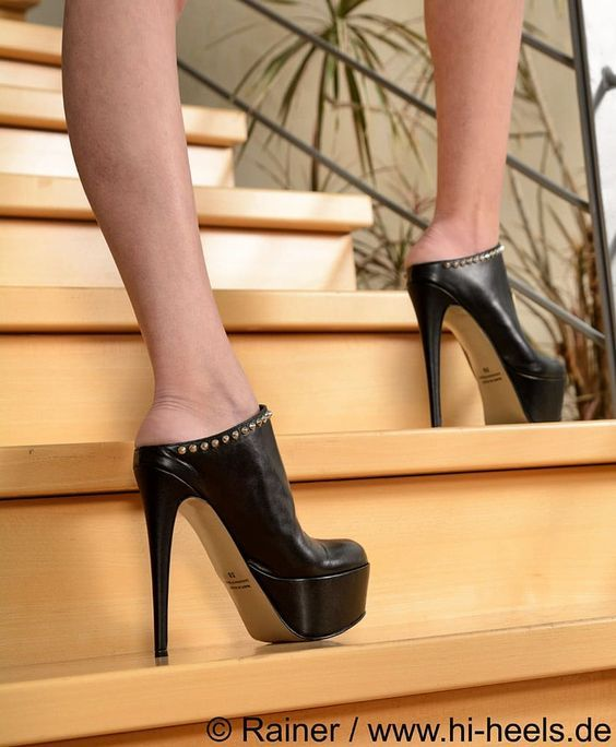 Awesome High Heel Mules