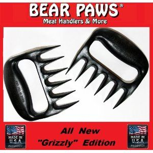 #10: Bear Paw Meat Handler Forks